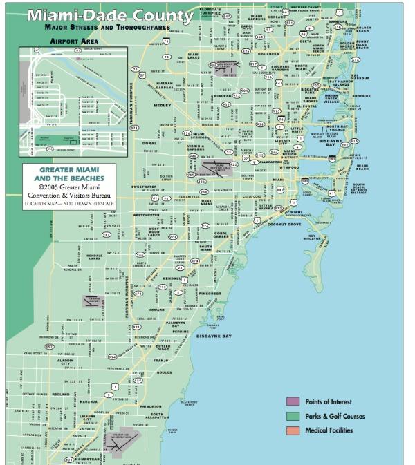 miami karta Miami | Karta | miami karta